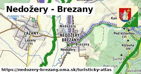 ikona Nedožery - Brezany: 34km trás turisticky-atlas  nedozery-brezany