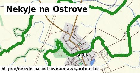 ikona Mapa autoatlas  nekyje-na-ostrove