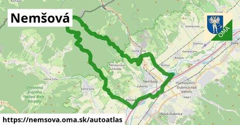 ikona Mapa autoatlas  nemsova