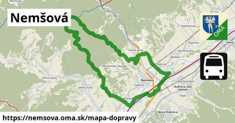 ikona Mapa dopravy mapa-dopravy v nemsova