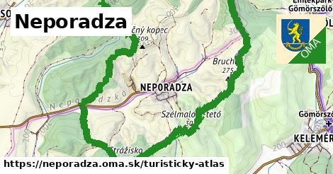 ikona Turistická mapa turisticky-atlas  neporadza