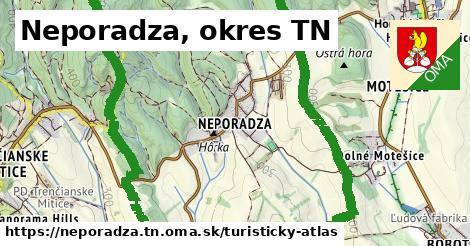 ikona Turistická mapa turisticky-atlas  neporadza.tn