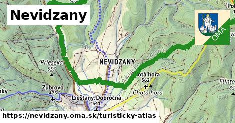 ikona Turistická mapa turisticky-atlas  nevidzany