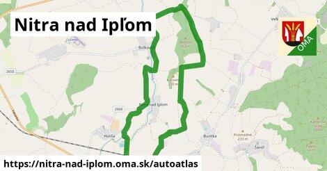 ikona Mapa autoatlas  nitra-nad-iplom