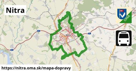 ikona Nitra: 580km trás mapa-dopravy  nitra
