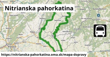 ikona Mapa dopravy mapa-dopravy  nitrianska-pahorkatina