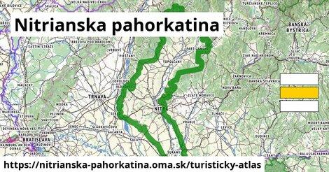 ikona Turistická mapa turisticky-atlas  nitrianska-pahorkatina