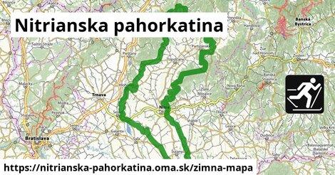ikona Zimná mapa zimna-mapa  nitrianska-pahorkatina