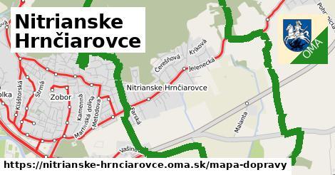 ikona Mapa dopravy mapa-dopravy  nitrianske-hrnciarovce