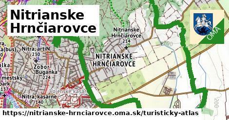 ikona Turistická mapa turisticky-atlas  nitrianske-hrnciarovce