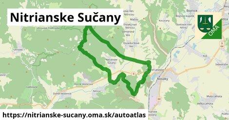 ikona Mapa autoatlas  nitrianske-sucany