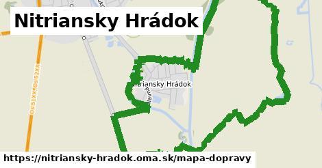ikona Nitriansky Hrádok: 0m trás mapa-dopravy v nitriansky-hradok