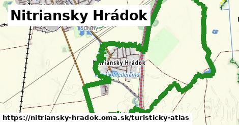 ikona Nitriansky Hrádok: 0m trás turisticky-atlas v nitriansky-hradok