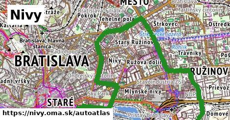ikona Mapa autoatlas  nivy