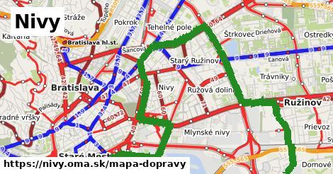 ikona Nivy: 396km trás mapa-dopravy  nivy