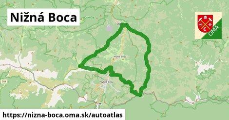 ikona Mapa autoatlas  nizna-boca