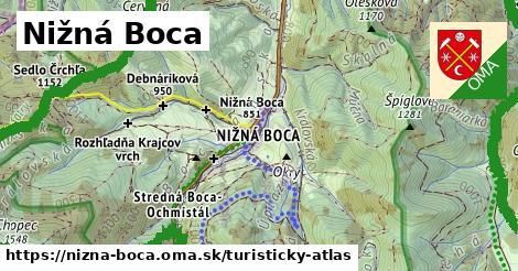 ikona Turistická mapa turisticky-atlas  nizna-boca
