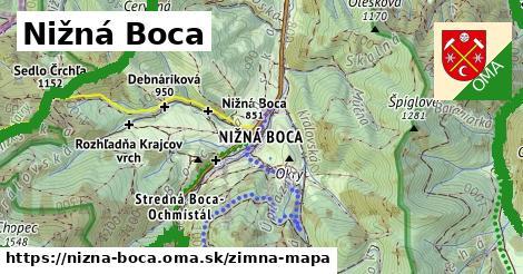 ikona Zimná mapa zimna-mapa  nizna-boca