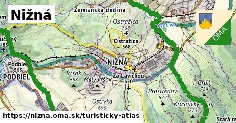 ikona Turistická mapa turisticky-atlas  nizna