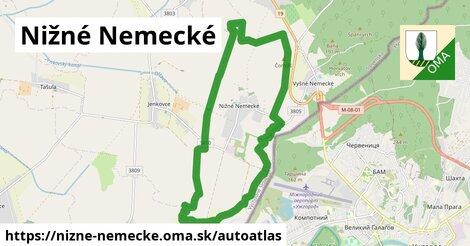 ikona Mapa autoatlas  nizne-nemecke