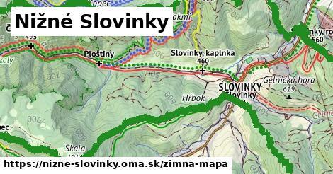 ikona Zimná mapa zimna-mapa v nizne-slovinky