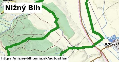 ikona Mapa autoatlas  nizny-blh