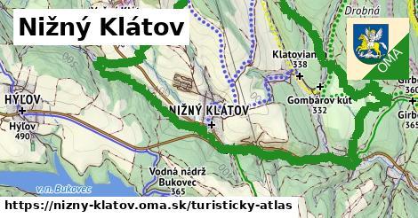 ikona Turistická mapa turisticky-atlas  nizny-klatov