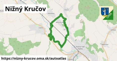 ikona Mapa autoatlas  nizny-krucov