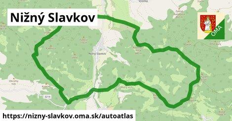 ikona Mapa autoatlas  nizny-slavkov