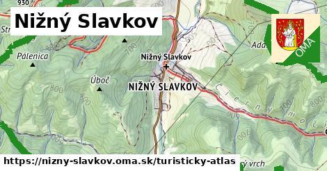 ikona Turistická mapa turisticky-atlas  nizny-slavkov