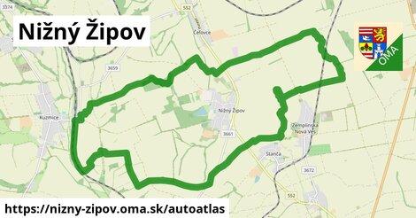 ikona Mapa autoatlas  nizny-zipov