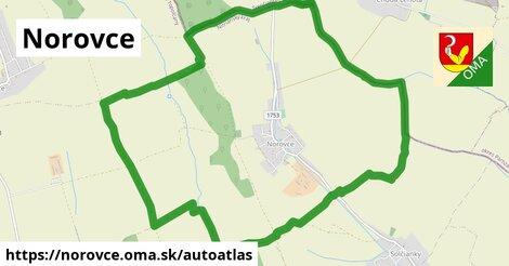 ikona Mapa autoatlas  norovce