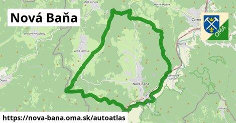 ikona Mapa autoatlas  nova-bana