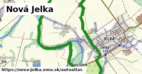 ikona Mapa autoatlas  nova-jelka
