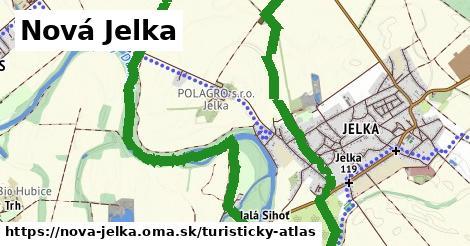 ikona Nová Jelka: 3,6km trás turisticky-atlas  nova-jelka