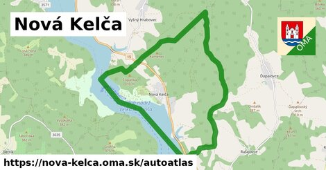 ikona Mapa autoatlas  nova-kelca