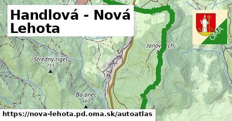 ikona Mapa autoatlas  nova-lehota.pd
