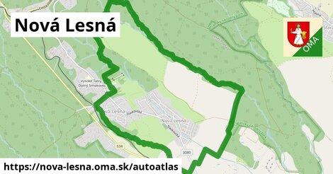 ikona Mapa autoatlas  nova-lesna