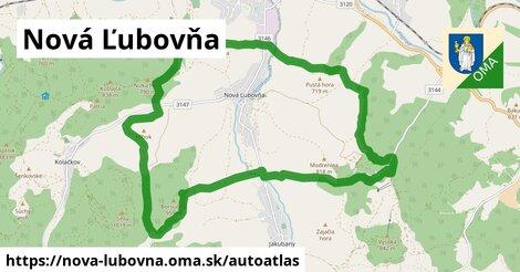 ikona Mapa autoatlas  nova-lubovna