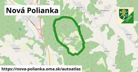 ikona Mapa autoatlas  nova-polianka