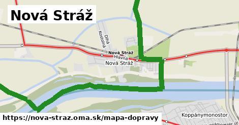 ikona Nová Stráž: 38km trás mapa-dopravy  nova-straz