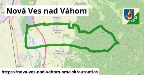 ikona Mapa autoatlas  nova-ves-nad-vahom