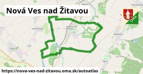 ikona Mapa autoatlas  nova-ves-nad-zitavou