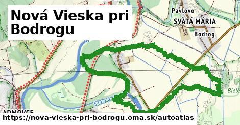 ikona Mapa autoatlas  nova-vieska-pri-bodrogu