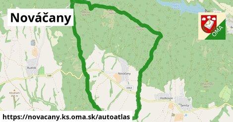 ikona Mapa autoatlas  novacany.ks