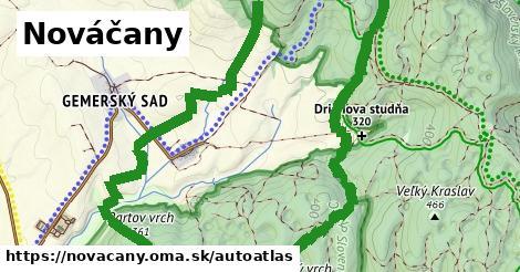 ikona Mapa autoatlas  novacany