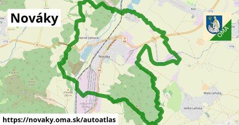 ikona Mapa autoatlas  novaky