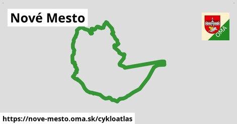 ikona Nové Mesto: 145km trás cykloatlas  nove-mesto