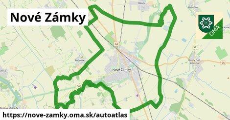 ikona Mapa autoatlas  nove-zamky