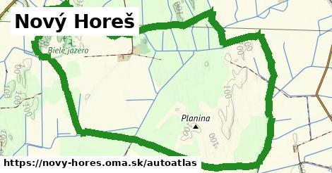 ikona Mapa autoatlas  novy-hores